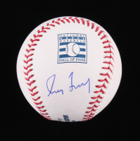 Greg Maddux Signed OML Hall of Fame Logo Baseball (JSA COA) at PristineAuction.com