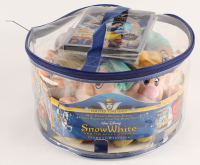"Walt Disney's ""Snow White & the Seven Dwarfs"" LE Collectible Plush Toys Diamond Edition Set With DVD + Blue Ray Combo Pack at PristineAuction.com"