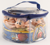 """Walt Disney's """"Snow White & the Seven Dwarfs"""" LE Collectible Plush Toys Diamond Edition Set With DVD + Blue Ray Combo Pack at PristineAuction.com"""