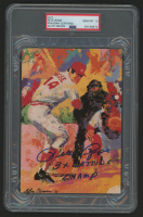 "Pete Rose Signed 5x7 LeRoy Neiman Print Inscribed ""3x Batting Champ"" (PSA Encapsulated) at PristineAuction.com"