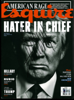 Donald Trump Signed 2016 Esquire Magazine (Beckett LOA) at PristineAuction.com