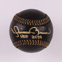"Mariano Rivera Signed OML Black Leather Baseball Inscribed ""HOF 2019"" (Beckett COA) at PristineAuction.com"