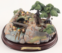 Walt Disney's Enchanted Places 60th Anniversary Ceramic Snow White and the Seven Dwarfs' Jewel Mine at PristineAuction.com