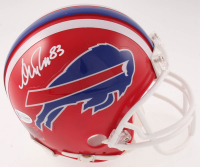 Andre Reed Signed Bills Mini Helmet (Beckett COA) at PristineAuction.com