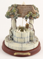 "Walt Disney's Enchanted Places 60th Anniversary Ceramic ""Snow White & the Seven Dwarfs"" Wishing Well at PristineAuction.com"
