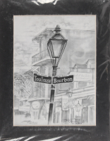 "Jon Guillame Signed ""Toulouse Bourbon"" 11x14 Custom Matted Print Display (PA LOA) at PristineAuction.com"