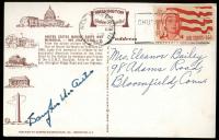 Douglas MacArthur Signed Postcard (JSA LOA) at PristineAuction.com