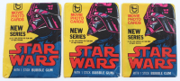 "Lot of (3) Unopened 1977 Topps ""Star Wars"" 2nd Series Wax Packs at PristineAuction.com"