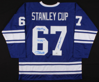 Jersey Signed by 1962 Maple Leafs with Johnny Bower, Red Kelly, Bobby Baun & Larry Hillman (Beckett LOA) at PristineAuction.com