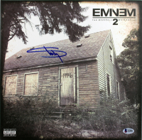 "Eminem Signed ""The Marshall Mathers LP 2"" Vinyl Record Album (Beckett LOA) at PristineAuction.com"