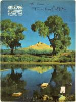 Frank Lloyd Wright Signed 1949 Arizona Highways Magazine (Beckett LOA) at PristineAuction.com