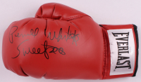 "Pernell Whitaker Signed Everlast Boxing Glove Inscribed ""Sweet Pea"" (JSA COA) at PristineAuction.com"