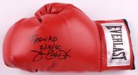 "James ""Buster"" Douglas Signed Everlast Boxing Glove Inscribed ""Tyson KO"" & ""2/10/90"" (JSA COA) at PristineAuction.com"