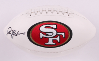 Deion Sanders Signed 49ers Logo Football (Beckett COA) at PristineAuction.com