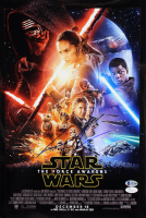 "George Lucas Signed ""Star Wars: The Force Awakens"" 12x18 Photo (Beckett LOA) at PristineAuction.com"