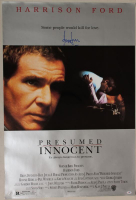 "Harrison Ford Signed ""Presumed Innocent"" 27x40 Poster (PSA COA) at PristineAuction.com"