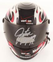 Justin Allgaier Signed Mini Racing Helmet (Beckett COA) at PristineAuction.com