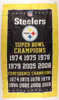 Steelers 36x60 Super Bowl Champions Flag at PristineAuction.com