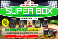 "Sportscards.com ""SUPER BOX"" 10+ Cards & Packs PER BOX!! Basketball Edition Mystery Box - Series 1 at PristineAuction.com"