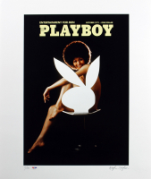 "Hugh Hefner Signed LE ""Playboy"" 20x24 Photo (PSA LOA) at PristineAuction.com"