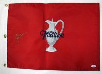 Jack Nicklaus Signed The Tradition Pin Flag (PSA COA) at PristineAuction.com