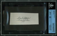 James Dean Signed 5th Grade Notebook Cut (BGS Encapsulated & JSA LOA) at PristineAuction.com