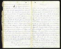 Jefferson Davis Signed Letter (Beckett LOA) at PristineAuction.com