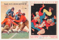 "Lot of (2) ""The Pigskin Review"" Programs with (1) 1943 & (1) 1930 at PristineAuction.com"