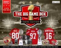 PPC 2020 The Big Game-49ers Edition Mystery Box - Series 1 (Limited to 10) at PristineAuction.com