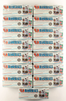 Lot of (15) 1988 Fleer Baseball Logo Stickers & Trading Cards Complete Sets at PristineAuction.com