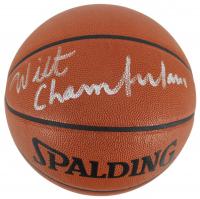 Wilt Chamberlain Signed NBA Game Ball Basketball (Beckett LOA) at PristineAuction.com