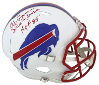 "O.J. Simpson Signed Bills Full-Size Matte White Speed Helmet Inscribed ""H.O.F. 85"" (Beckett COA) at PristineAuction.com"