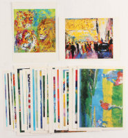 Lot of (24) LeRoy Neiman Print Postcards at PristineAuction.com