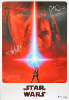 "Mark Hamill & Adam Driver Signed ""Star Wars: The Last Jedi"" 13x19 Photo (Beckett LOA) at PristineAuction.com"
