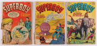 "Lot of (3) 1949-79 ""Superboy"" 1st Series DC Comic Books at PristineAuction.com"