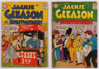 "Lot of (2) 1956 ""Jackie Gleason & the Honeymooners"" DC Comic Books at PristineAuction.com"