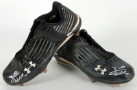 Zack Wheeler Signed Game Used Pair of (2) Baseball Cleats (Beckett COA) at PristineAuction.com