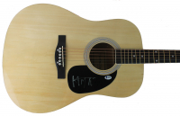 Mick Jagger Signed Acoustic Guitar (Beckett LOA) at PristineAuction.com