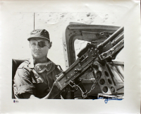 Moshe Dayan Signed 16x20 Photo (Beckett LOA) at PristineAuction.com