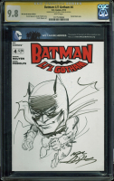 "Neal Adams Signed Batman 2013 ""Li'l Gotham"" #4 ""We Can Be Heroes"" Blank Variant Comic Book with Hand-Drawn Sketch (CGC Encapsulated - 9.8) at PristineAuction.com"