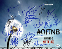 """Orange Is the New Black"" 11x14 Photo Cast-Signed by (13) with Taryn Manning,  (PSA LOA) at PristineAuction.com"