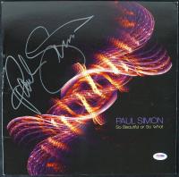 "Paul Simon Signed ""So Beautiful or So What"" Vinyl Album Cover (PSA COA) at PristineAuction.com"