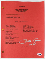 """Pete Rose Signed 1989 MLB Confidential Dowd Report Inscribed """"4256"""" (PSA COA) at PristineAuction.com"""