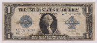Star Note - 1923 $1 One Dollar Blue Seal Large Size Silver Certificate Bank Note at PristineAuction.com