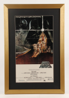 """Star Wars: Episode IV - A New Hope"" 17x25 Custom Framed Movie Poster Display at PristineAuction.com"