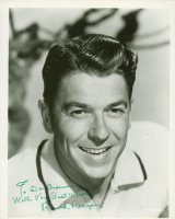 "Ronald Reagan Signed 8x10 Photo Inscribed ""With Very Best Wishes"" (JSA LOA) at PristineAuction.com"