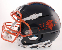 Mike Singletary Signed Bears Full-Size Authentic On-Field Hydro Dipped F7 Helmet (Beckett COA) at PristineAuction.com