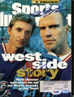 Wayne Gretzky & Mark Messier Signed Sports Illustrated Magazine (PSA LOA & Steiner Hologram) at PristineAuction.com
