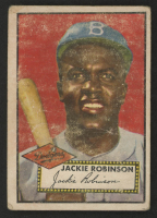 Jackie Robinson 1952 Topps #312 at PristineAuction.com