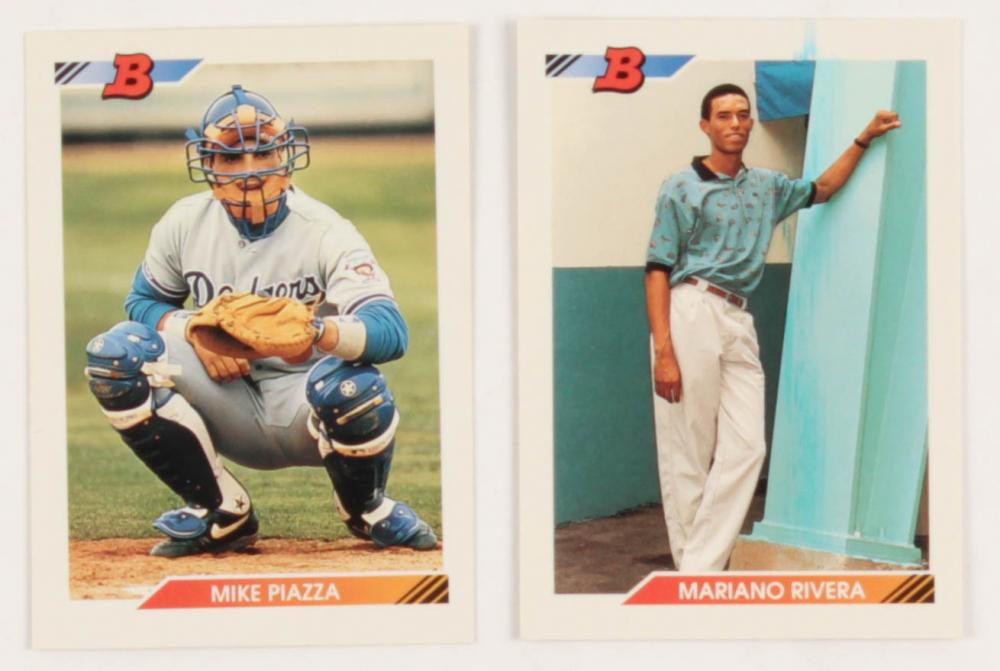 1992 bowman baseball  complete set 705 cards